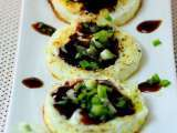 Recipe Fried eggs and oyster sauce
