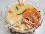 Recipe Tasty flower crab soup