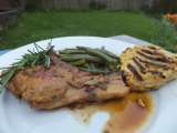 Recipe Pork chops in aromatic beer sauce