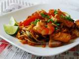 Recipe Mee goreng (mamak fried noodles)