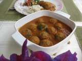 Recipe Lotus stem kofta curry