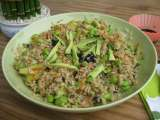 Recipe Vegetarian sushi salad