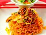 Recipe Vegetarian fried mee hoon (chinese style)