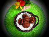 Ragi vada (finger millet patty)