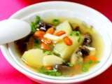 Recipe Winter melon & wolfberries soup (vegetarian)