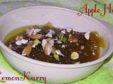 Recipe Apple halwa