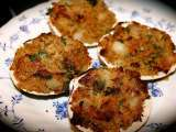 Recipe Bacon stuffed clams