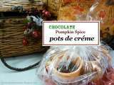 Recipe Chocolate pumpkin spice pots de creme