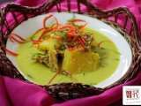 Recipe Ikan masin & nenas masak lemak (salt fish & pineapple in coconut gravy)