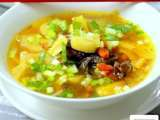 Recipe Chinese burdock root & kei chi (wolfberry) soup