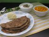 Recipe Missi roti with black gram flour