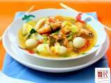 Recipe Tom yum seafood soup
