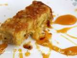 Recipe Mango cake with passion fruit sauce