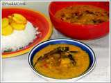 Recipe Bengali fish head dal