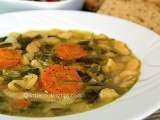 Recipe Fasolada: a traditional greek white bean soup recipe