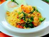 Recipe Nasi goreng belacan udang ( shrimp paste and prawn fried rice)