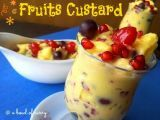 Recipe Fruit Custard / Fruit Salad with Custard