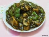 Recipe Chili Chicken(Chicken Cooked with Capsicum and Spring Onions)