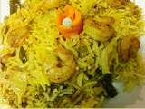 Recipe Prawn biryani