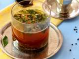 Recipe Pepper garlic rasam (indian pepper soup)