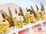 Recipe Singapore dry laksa noodles, a great party treat !