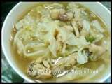 Recipe Sweet cabbage soup with spice ball