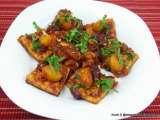 Recipe Spicy pan seared tofu with kumquat sauce