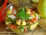 Recipe Mango salsa with roasted capsicum