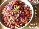 Recipe Boiled peanut salad