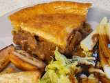 Recipe Herby lamb & pea pie
