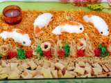 Recipe Chinese new year salmon yu sheng with jellyfish