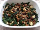 Recipe Kale salad and croutons