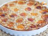 Recipe Apricot and almonds tart - video recipe !