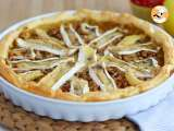 Recipe Camembert and apples tart - video recipe !