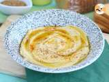 Recipe Creamy lebanese hummus - video recipe!