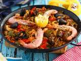 Recipe Paella with seafood