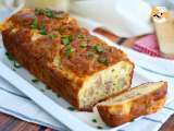 Recipe Cheese and ham cake