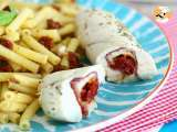 Recipe Chicken rolls with mozzarella