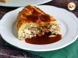Recipe Guinea fowl pie and its gravy