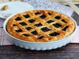 Recipe Cherry lattice pie