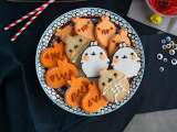 Recipe Halloween Molang biscuits