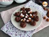 Recipe Homemade chocolates with marshmallows and nuts
