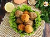 Recipe Sweet potato falafels - Vegan and gluten free