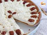 Recipe Vanilla pecan and caramel tart