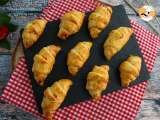 Recipe Croissants with ham and cheese