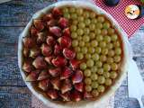 Recipe Fig and grape tart