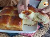 Recipe Pancetta and cheese stuffed buns - Tanghzong method