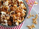 Recipe Caramel popcorns