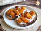 Recipe Ricotta, butternut and egg toast