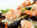 Recipe Japanese prawn noodle salad